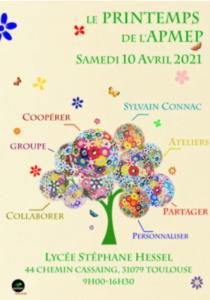 APMEP Toulouse le printemps de l'APMEP 2021
